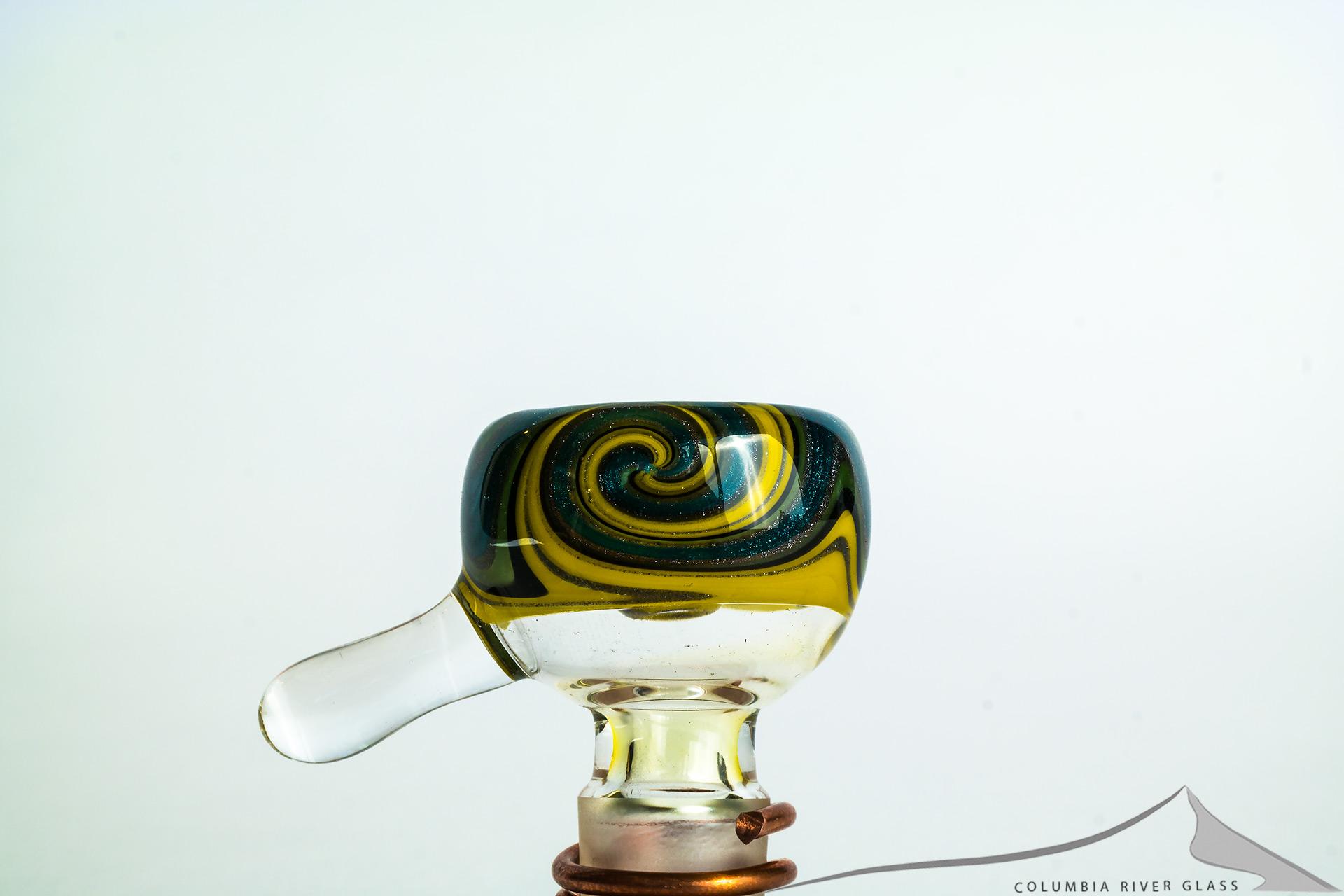 Rad Glass Dichroic 14mm Slide