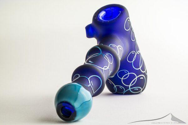 Cobalt Leaning Bubbler