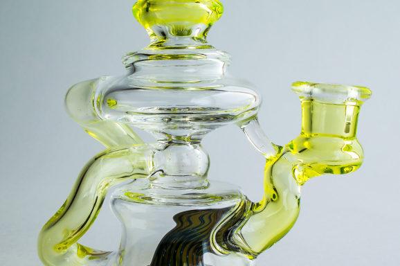 Hondo Glass Illuminated Recycler